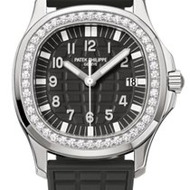 Patek Philippe Aquanaut Steel 35.6mm Black Arabic numerals United States of America, New York, New York