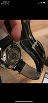 Hamilton Jazzmaster GMT Auto pre-owned 42mm Black Date GMT Leather