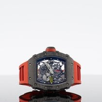 Richard Mille RM 035 Carbon 49.94mm Proziran Bez brojeva