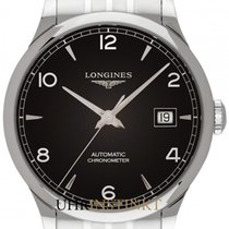 Longines Record L2.821.4.56.6 2019 new