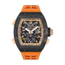 Richard Mille Carbon 50mm Manual winding RM004 new