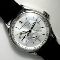 Baume & Mercier William Baume Steel 39mm White No numerals