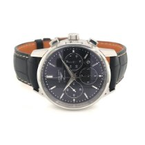 Longines Column-Wheel Chronograph Steel 40mm Black