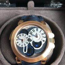 Harry Winston Ocean 400-MATZ44R-SN510 Harry Winston Ocean Dual Time Rose Gold Nuevo Oro rosa 44mm Automático