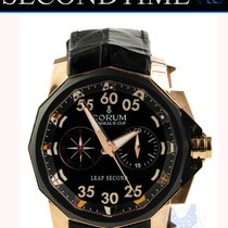 Corum Admiral's Cup Leap Second 48 Rose gold 48mm Black No numerals United States of America, Florida, Hollywood