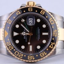 Rolex GMT-Master II Gold/Steel 40mm Black No numerals United States of America, New York, Greenvale