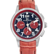 Wyler Vetta Men's Stainless Steel Automatic Chronograph Watch...