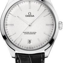 Omega Weißgold Handaufzug Silber 40mm neu De Ville Trésor