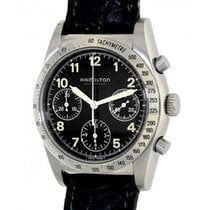 Hamilton Chronograph Automatic 51j 7014a Steel, 37mm