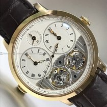 Arnold & Son - DBG Double Beat Equation GMT Y/G 16.2.1.01.004