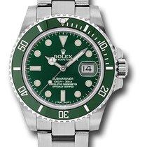 Rolex Submariner Date Green Dial Green Bezel Ceramic