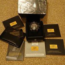 Breitling Superocean Chronograph M2000 Stahl 46mm Schwarz Keine Ziffern