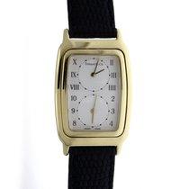 Tiffany & Co Unisex Rectangle M 203 White Dial Swiss Quartz Watch