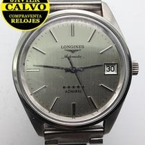 Longines Admiral pre-owned 35mm Steel