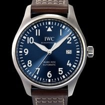 IWC Pilot Mark Steel Blue United States of America, California, San Mateo