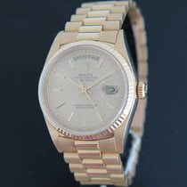 "Rolex Day-Date Yellow Gold ""Tapistry Dial"" 18038"