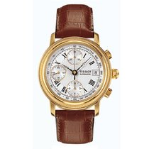 Tissot new Automatic Yellow gold Sapphire crystal