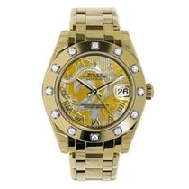 Rolex Pearlmaster new 34mm Yellow gold