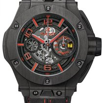 Hublot Big Bang Ferrari 402.QU.0113.WR Novo Carbono 45mm Automático