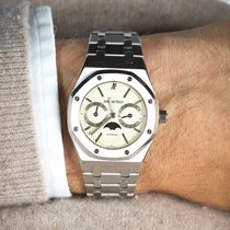 Audemars Piguet Royal Oak Day-Date creme dial. Like new condition