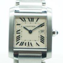 Cartier Tank Française Steel 25mm White Roman numerals United States of America, Florida, Miami