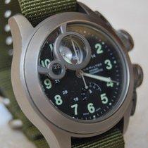 Hamilton Khaki Navy Frogman Titane 43mm