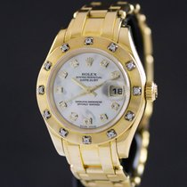 Rolex Lady-Datejust Pearlmaster Oro amarillo 29mm Madreperla Sin cifras España, Barcelona