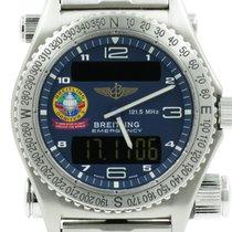 Breitling Emergency Titanium 43mm Blauw Arabisch Nederland, Nijmegen  (www.horloge-sieraden.nl)
