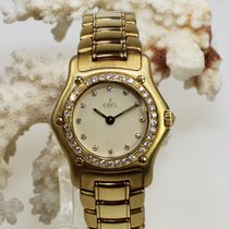 Ebel pre-owned Quartz 25mm Champagne Sapphire crystal Not water resistant