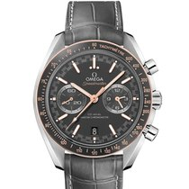 Omega Speedmaster Racing Steel 44.2mm Grey No numerals United States of America, New York, New York