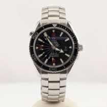 Omega 2200.51.00 Steel 2010 Seamaster Planet Ocean pre-owned