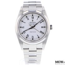 Rolex Air King Precision Steel 34mm No numerals