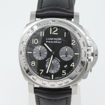 Panerai Luminor Chrono Steel 44mm Black Arabic numerals United Kingdom, London