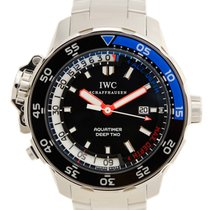 IWC Aquatimer Deep Two новые Автоподзавод Часы с оригинальными документами и коробкой IW354703