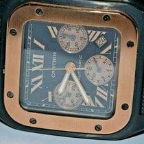 Cartier Santos 100 Steel 43mm Black Roman numerals United States of America, New York, Greenvale