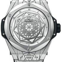 Hublot Titanium Automatic White 45mm new Big Bang Sang Bleu