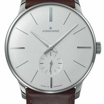 Junghans Meister Hand-winding Steel 38mm Silver United States of America, New Jersey, Cherry Hill