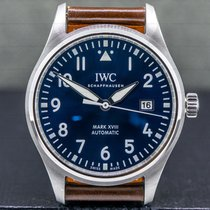 IWC Pilot Mark Steel 40mm Blue Arabic numerals United States of America, Massachusetts, Boston