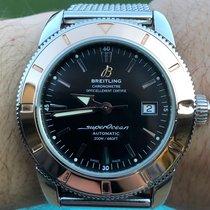 Breitling Superocean Héritage 42 Acero 42mm Negro