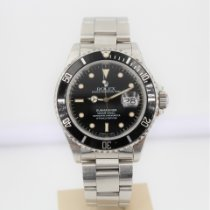 Rolex Submariner Date новые 1988 Автоподзавод Часы с оригинальными документами и коробкой 16610