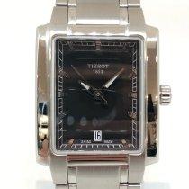Tissot TXL Steel 28mm Black No numerals