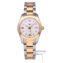 Longines Conquest Classic Gold/Steel 29.5mm Silver