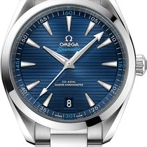 Omega Seamaster Aqua Terra Steel 41mm Blue No numerals United States of America, Georgia, Alpharetta