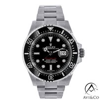 Rolex Sea-Dweller Steel 43mm Black No numerals United States of America, New York, New York