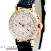 Vacheron Constantin Vintage Chronograph Cal-492 18k Rose Gold...