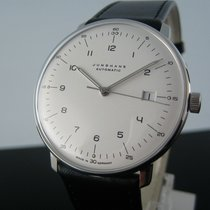 Junghans max bill Automatic Steel 39mm Silver Arabic numerals