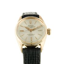 Rolex Lady Datejust 18ct Gold Oyster Perpetual Lady Date Ref 6517