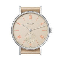 NOMOS Ludwig Neomatik Staal 36,00mm Champagne Romeins