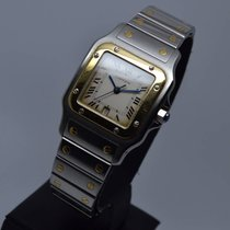 Cartier Santos Galbée 18K Gold Steel with 1 Year Warranty