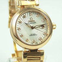 Omega De Ville Ladymatic Omega Co-Axial 34 mm  Rotgold